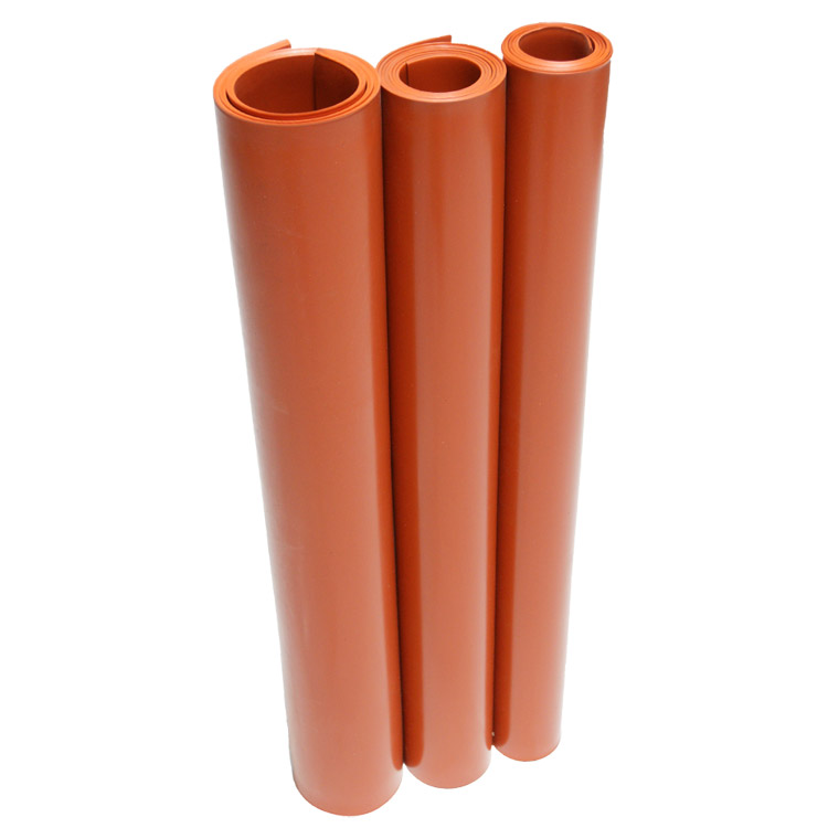 Silicone - Commercial Grade Red/Orange - 60A